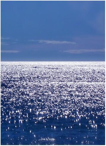 sparkling sea